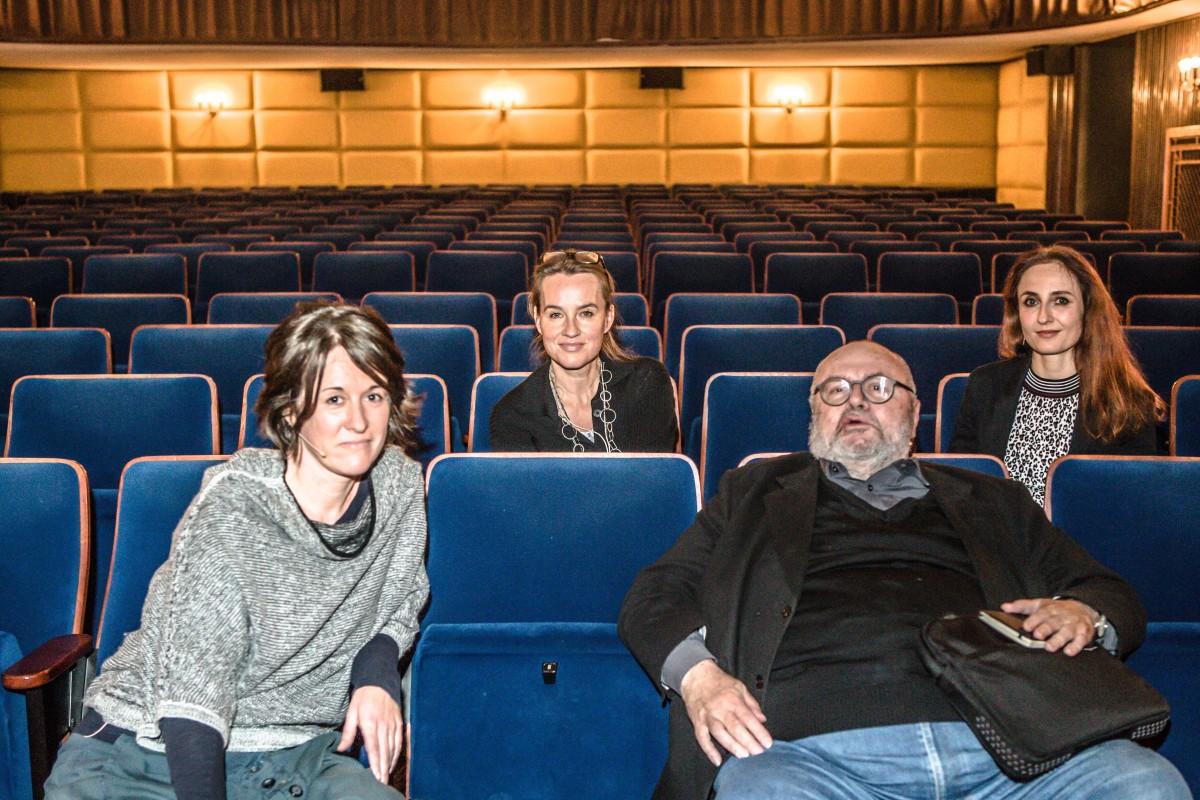 Glücks-Leuchtpunkte Talk mit Franz Schuh und Elisabeth Scharang, 20.11.´17